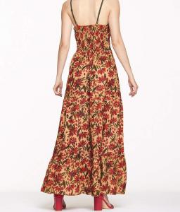Women's Cotton maxi dress adjustable strap | Online sale of women's clothes