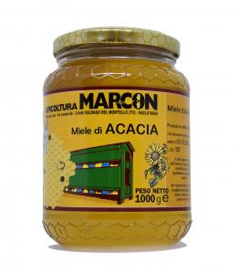 Miele di Acacia italiano in vaso da 1 kg, 500 g e 250 g