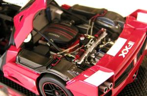 Ferrari FXX Red Super Elite 1/18 Mattel Hot Wheels