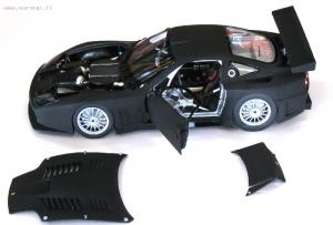 Ferrari 575 GTC 2004 Black 1/18 Kyosho