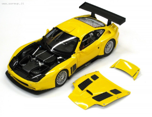 Ferrari 575 GTC 2004 Yellow 1/18 Kyosho