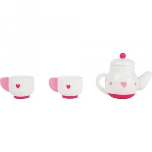 Servizio da tè gioco accessorio cucina in legno