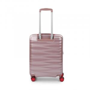 Roncato STELLAR bagaglio a mano Rosa 55 x 40 x 20 espandibile