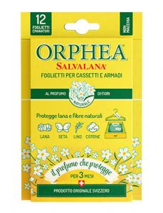 Set 24 ORPHEA Buste Gialle al profumo di Fiori Salvalana con 12 foglietti ciascuna - Profumatori Armadio