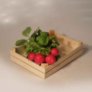 Set di Cassettine in legno di Betulla naturale