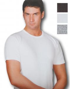 AREA. Maglietta intima - T-shirt, Uomo manica corta, girocollo Cotone caldo. 808