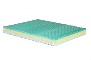 NANTEN - Materasso memory alto 24 cm con rivestimento sfoderabile