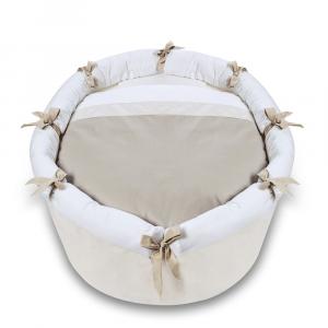 Kit Set tessili per culla e per lettino Lab 03 Sabbia