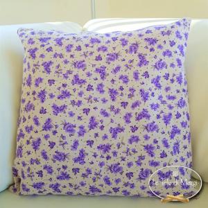 Fodera cuscino 40 x 40 violette lilla