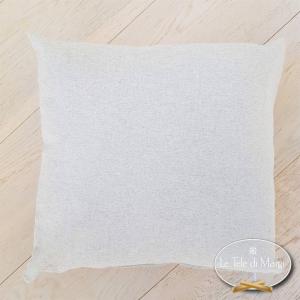 Fodera cuscino 40 x 40 tinta unita grigio