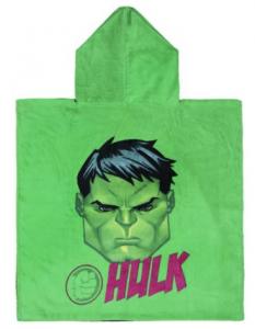 Poncho Hulk 100% cotone dim. 60x120 cm