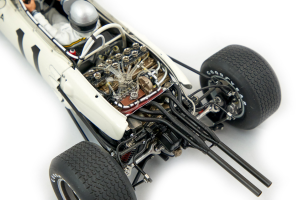 Honda RA272 F1 Mexico Gp Winner 1965 Richie Ginther #11 With Driver Figure Fitted 1/18 Autoart