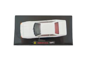 Ferrari 365 Gt4 2+2 White 1/43 Hot Wheels