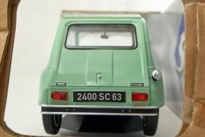 Citroen Dyane 6 Vert Jade 1967 1/18 Solido