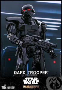 *PREORDER* Star Wars - The Mandalorian Action Figure 1/6: DARK TROOPER by Hot Toys