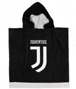 Accappatoio Poncho Juventus Bambino in Spugna-2