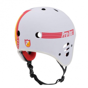 S&M Full Cut Pro-Tec Helmet | Colore White