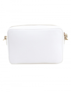 Tracolla S Crossbody con borchie color bianco lana - LIU JO