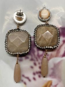Orecchini pendenti in argento 925