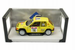 Peugeot 205 Rally Tour De Corse 1990 Doenlen #16 1/18 Solido