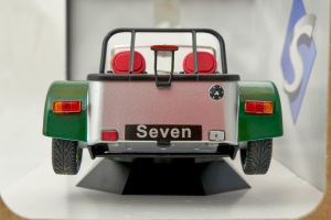 Lotus 7 Seven Aluminium Body Green Nose 1989 1/18 Solido