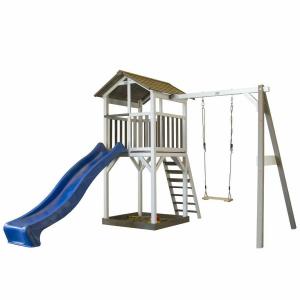 Beach Tower Single Swing per Bambini con altalena