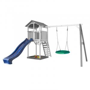 Beach Tower Single Swing per Bambini con altalena a nido