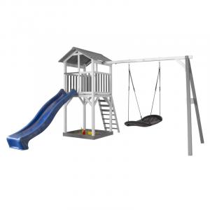 Beach Tower Single Swing per Bambini con altalena Roxy Nest