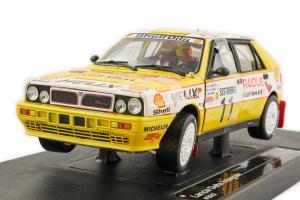 Lancia Delta Integrale #11 D. Cerrato G. Vasino Rallye Monte Carlo 1989 1/18 Sun Star
