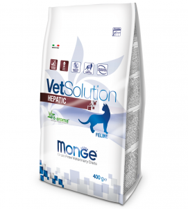 Monge - VetSolution Feline - Hepatic - 400gr