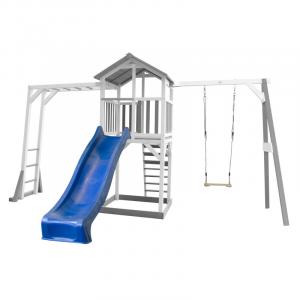 Beach Tower per Bambini con Struttura per arrampicarsi e altalena