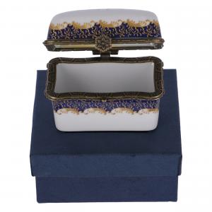 Set 6 scatoline in ceramica