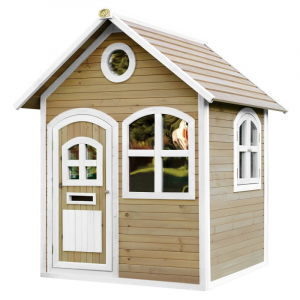 Casetta per Bambini in Legno Playhouse JULIA Brown/white