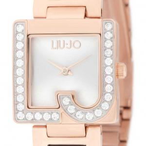 LIU JO Orologio Giulia, rose gold, quadrante silver