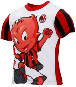 T-shirt Milan Bambino misura 36 mesi