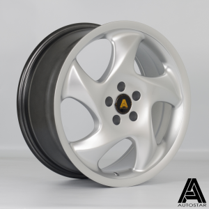 Cerchi in lega  Autostar  Twist  17''  Width 7.5   5x100  ET 35  CB 73,1    Silver
