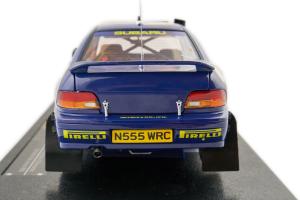 Subaru Impreza 555 #2 K. Eriksson S. Parmander Kenya 1996 1/18 Sun star