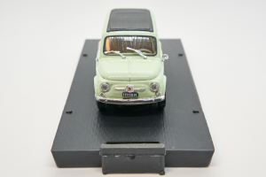 Fiat 500 Giardiniera Closed Light Green 1960 1/43 Brumm 100% Made In Italy