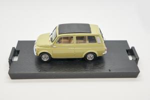 Fiat 500 Giardiniera Closed Oasi Green 1960 1/43 Brumm 100% Made In Italy