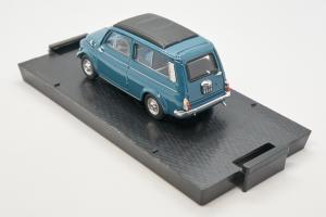 Fiat 500 Giardiniera Closed Medio Blue 1960 1/43 100% Made In Italy