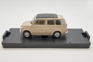 Fiat 500 Giardiniera Closed Sand Beige 1960 1/43 Brumm 100% Made In Italy