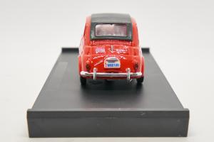 Fiat Nuova 500 America Chiusa 1958 Rosso Targa New York 1/43 Brumm 100% Made In Italy