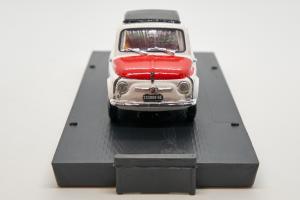 Fiat 595 Abarth Trofeo Italiano Turismo 1965 #108 1/43 Brumm 100% Made In Italy
