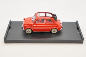 Fiat Nuova 500 America Aperta 1958 Rosso Targa New York 1/43 Brumm 100% Made In Italy