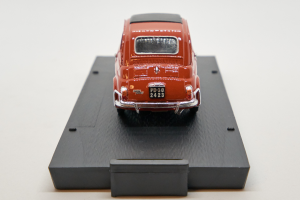 Fiat 500L Closed 1968-1972 Coral Red 1/43 Brumm 100% Made In Italy