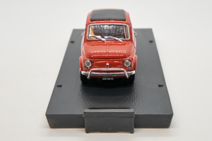 Fiat 500L Closed 1968-1972 Dark Coral Red 1/43 Brumm 100% Made In Italy