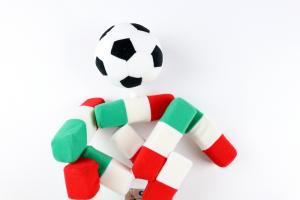 1990 Mascotte Mondiali Italia 90 World Cup *Nuovo