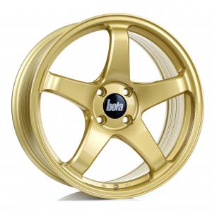 Cerchi in lega Bola  B2R  18''  Width 8.5   5X120  ET 30 TO 45  CB 72,6  Gold