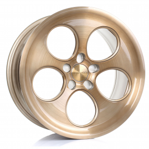 Cerchi in lega Bola  B5  18''  Width 9.5   5X130  ET 40 TO 45  CB 72,6  Bronze Brushed Polished Face