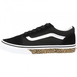 Vans Old Skool W Animal Sidewall Black Leopard